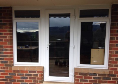 Nu-Eco Double glazed uPVC French Doors and Windows